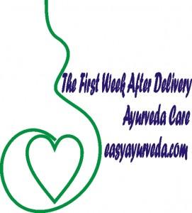Ayurvedic post natal care