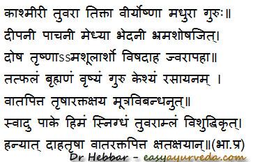 Gambhari benefits