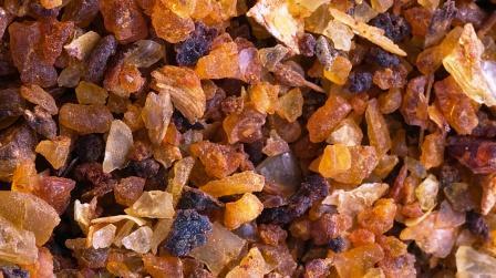 myrrh (Commiphora myrrha) - Gum resin