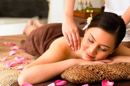 neck and back massage