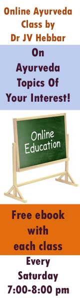 online Ayurveda class every Saturday