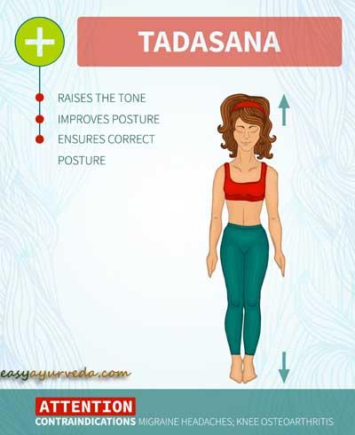 Tadasana - Mountain Pose: How To Do, Benefits, Side Effects